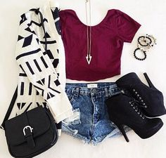 Casual Going To Town Outfit