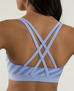 Lululemon Energy Bra $48.00 Apex Stripe Lavender Dusk/Lavender Dusk ~
