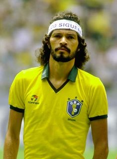 A gangly philosopher. A wizard and political activist on the pitch, a heavy smoker and drinker off it. Socrates promoted democracy in Brazil post their dictorship period but enjoyed the finer things in life until he tragically died earlier this year. A one off character, given the riches of the modern game.