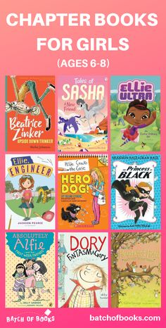Chapter books for first grade girls