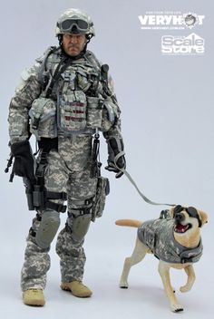 Another military figure PREVIEW (see the last post ) but this one's by Very Hot and it's a 1:6 scale US Army modern MP (Military Police) uni...