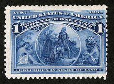 ¿Por qué la primera mujer que apareció en un sello de EEUU era española? - Historias de la Historia