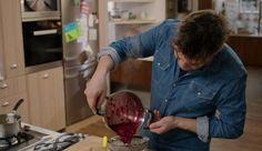 Citroenmousse met frambozen en botergaletten | Dagelijkse kost Panna Cotta, Dulce De Leche