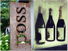 Im heimatlichen Weingut Poss von Weinkoenigin Nadine Poss ist die Koenigliche Weinkollektion vorgestellt worden