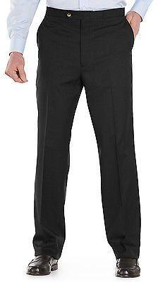 Sansabelt Sharkskin Pants Casual Male XL Big & Tall