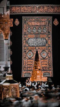 Mecca Wallpaper, Quran Wallpaper, Islamic Quotes Wallpaper, Beautiful Mosques, Beautiful Islamic Quotes, Islamic World, Islamic Art, Mekka Islam, Mecca Images