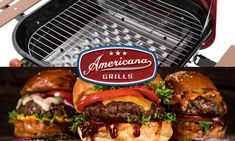 Americana Grills introduces easy this Easy Recipe with Awesome taste! The BBQ Bacon Burger and Sweet Potato Chips are sure to please your crowd for any event. Bbq Bacon, Sweet Potato Chips, Chips Recipe, Grills, Hamburger, Easy Meals, Potatoes, Canning, Ethnic Recipes
