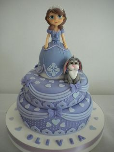 Torta Princesita Sofia | Flickr - Photo Sharing!