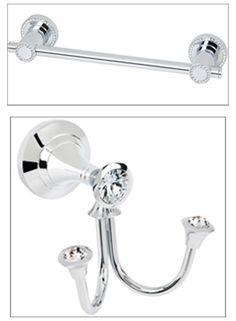9 Best Crystal Bath Accessories images | Crystal bath ...