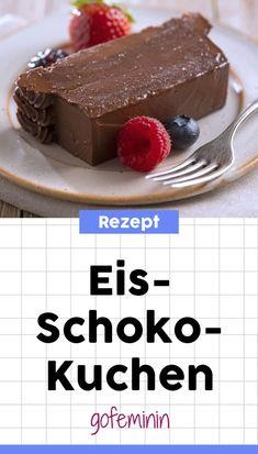 Eistorte selber machen - hier geht's zum Rezept für leckeren Eis-Schoko-Kuchen #kuchenohnebacken #eistorte #eis #schokolade
