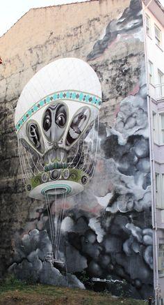 Street Artist: Claudio Ethos