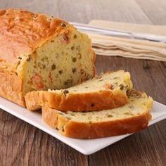 Lachs-Mozzarella+Cake+mit+Schnittlauch