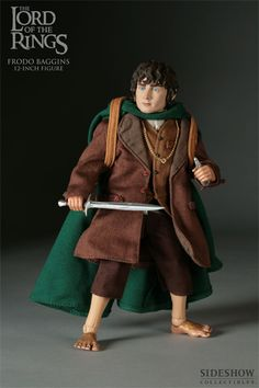 "Lord of the Rings 12"" Frodo Baggins"