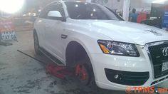 Cool Audi: Lắp đặt cảm biến áp suất lốp xe Audi Q5 - TPMS.vn...  TPMS.vn