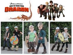 How to Train Your Dragon costumes  (via The Weisse Guys)
