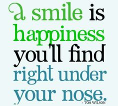 A Smile is Happiness!!