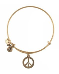 Alex and Ani World Peace Bangle