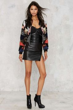 Bead the Lions Bomber Jacket | Shop Clothes at Nasty Gal!