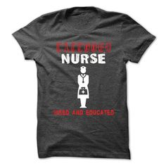 Tattooed Nurse T-Shirts, Hoodies. BUY IT NOW ==► Funny Tee Shirts