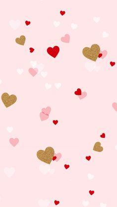 Luvnote2 ~ Hearts Wallpaper.
