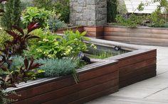 vyvýšené záhony na střešní zahradě / raised beds on the roof garden Roof Gardens, Patio, Terraces, Outdoor Decor, Home Decor, Decks, Decoration Home, Room Decor, Terrace
