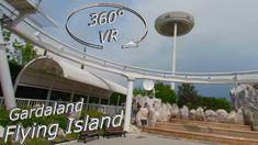 Gardaland 2019 Flying Island 360° VR Onride Enjoy It, Vr, Fair Grounds, Island, Travel, Viajes, Islands, Destinations, Traveling