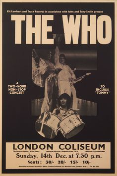 1969 #TheWho their finest hour #London Coliseum the greatest rock band in the world