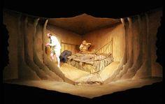 Bedbound theatre set by Olan Wrynn
