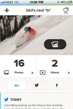 Snowbird Mobile Site  Realpixels