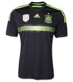 Spain 2014 FIFA World Cup Away Jersey, Pre Order Today Available – 04/03/2014 http://www.soccerbox.com/15721