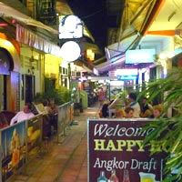Siem Reap nightlife and bars, The Passage