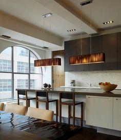 elegant california residental interiors | Luxury Kitchen Residential Interior Design Tribecca Residence New York ...