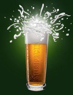 Staropramen – The world-famous Czech beer brand Czech Beer, Beers Of The World, Beer Brands, Beer Recipes, Print Advertising, C'est Bon, Czech Republic, Craft Beer, Socialism