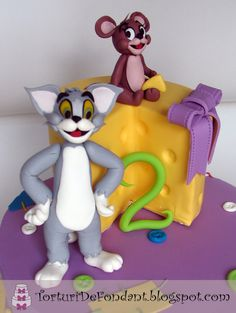 Tom & Jerry | Torturi de fondant