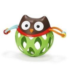 Roll Around Owl ( Coruja) - Brinquedo para bebe com chocalho - Melhor brinquedo de bebe em 2015