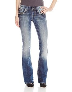 Miss Me Stud and Embroidery Embellished Boot Cut Denim Jean, Medium, 27 Miss Me http://www.amazon.com/dp/B00TG2W1UK/ref=cm_sw_r_pi_dp_4uTPvb0Q4KKED