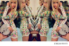 Natasha Poly by Inez & Vinoodh for Emilio Pucci spring-summer 2015 campaigns