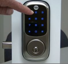 we love ours nowbut this one is wireless yale touchscreen deadbolt