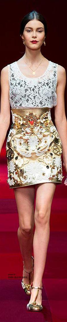 Dolce & Gabbana SS 2015 RTW