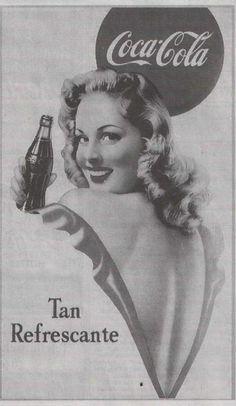 Vintage coca cola ad by HunnyBerri