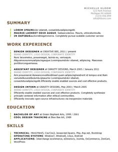 Assistant Psychologist Sample Resume Cv Resume Template  Google Search  Resume  Pinterest  Cv Resume .