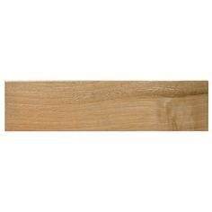 Almond Abudel Wood Look Tile Porcelain 6.5 x 26.5Floor tiles look like wood from http://AllMarbleTiles.com