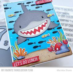 Boy Cards, Kids Cards, Mermaid Lagoon, Mft Stamps, Walnut Stain, Distress Ink, Farm Animals, Shark, Card Stock