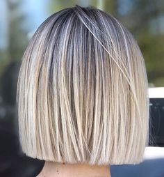 Classic Brunette Balayage - 20 Inspirational Long Choppy Bob Hairstyles - The Trending Hairstyle Balayage Hair, Ombre Hair, Short Bob Hairstyles, Cool Hairstyles, Blunt Bob Haircuts, Short Blunt Haircut, Short Blunt Bob, Cute Bob Haircuts, Blonde Hairstyles