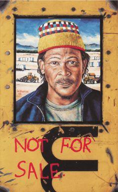 Willie Bester, Not for Sale. South African Artists, Art Club, Community Art, Cool Art, Contemporary Art, Art Ideas, Fine Art, Paladin, Africa Art