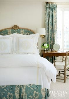 Monogrammed bedding...yay or nay? - The Enchanted Home
