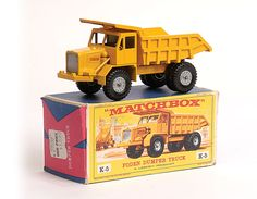 Matchbox Kingsize K5 Foden Dump Truck