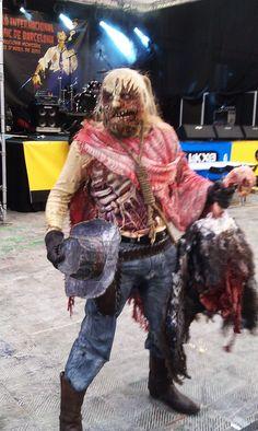Clint Deadwood, zombie cosplay winner