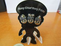 USN Funko Style Dark Skinned Female Navy Chief Navy Pride Khaki Uniform CPO Challenge Coin Measures approx 3 x 2 inches Coin stand not included Chinese Alphabet, Navy Chief, How To Make Labels, Challenge Coins, Navy Women, Dark Skin, Pride, Electrical Wiring, Female