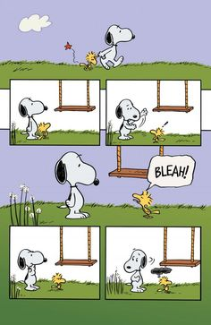 Snoopy in Woodstock's New Nest 04 - unreleased story